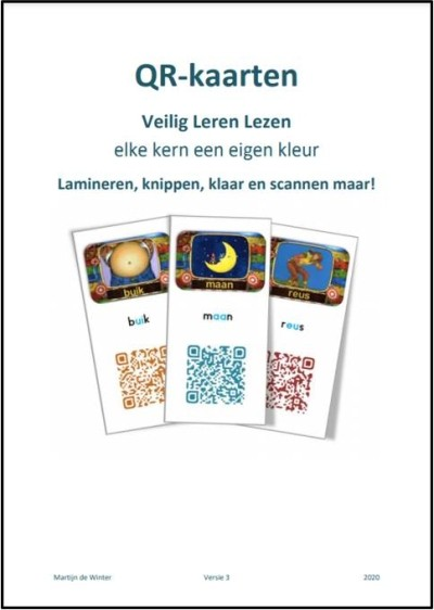 QR-codes Veilig Leren Lezen